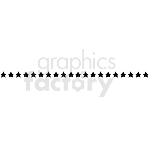 star line vector asset clipart. Commercial use image # 412588