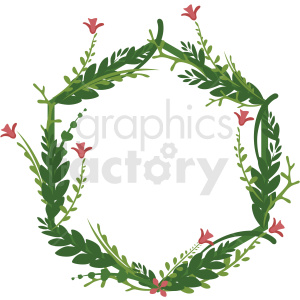 hexagon shaped full floral frame vector clipart clipart. Royalty-free image # 412768