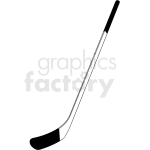 black and white hockey stick clipart design clipart. Commercial use image # 412930
