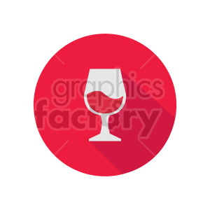 red wine icon clipart. Commercial use image # 413432