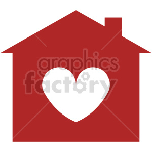 love my home vector clipart 2 clipart. Commercial use image # 413474
