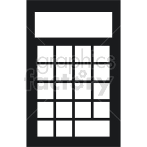 calculator vector clipart 17 clipart. Commercial use image # 413533