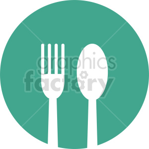 dinner plate vector icon graphic clipart 5