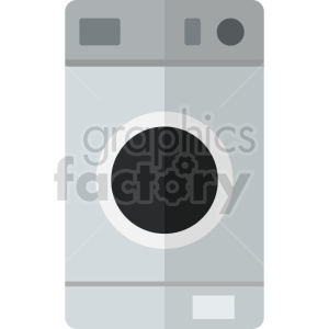 washing machine vector icon graphic clipart no background
