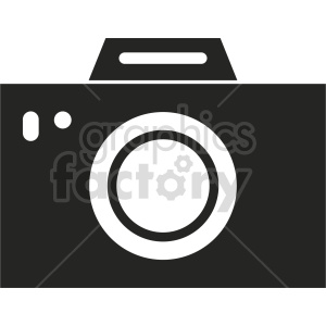 camera vector graphic 5 clipart. Commercial use image # 413563