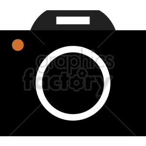 camera vector clipart 11 clipart. Commercial use image # 413574