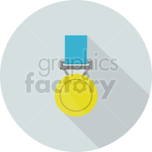 award medal vector icon graphic clipart 1 background. Commercial use background # 413745