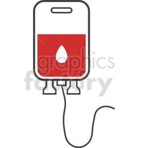 blood iv bag vector icon graphic clipart 4 clipart. Commercial use image # 413768