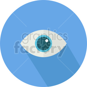 eye vector icon graphic clipart 1