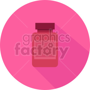 medicine bottle vector icon graphic clipart 2 clipart. Commercial use image # 413784