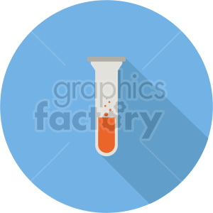 laboratory test tube vector icon graphic clipart 10 clipart. Commercial use image # 413819