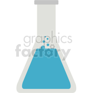 science laboratory beaker vector icon graphic clipart no background clipart. Commercial use image # 413825