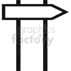 sign vector icon graphic clipart 4