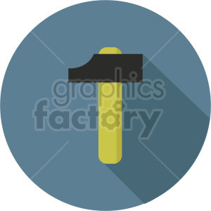 hammer vector icon graphic clipart 18 clipart. Commercial use image # 413874