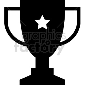 trophy vector icon graphic clipart 5 clipart. Commercial use image # 413939