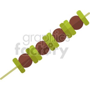 bbq shish kabob vector icon clipart 3 clipart. Commercial use image # 414048