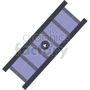 isometric film strip vector icon clipart 2 clipart. Commercial use image # 414124