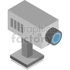 security camera vector icon clipart 1 clipart. Commercial use image # 414154
