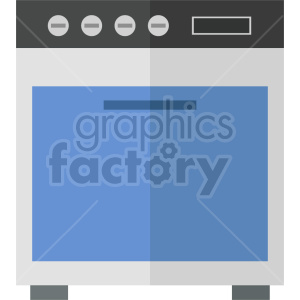 isometric oven vector icon clipart 3 clipart. Commercial use image # 414253