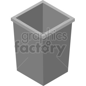 tools trash garbage isometric