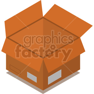 isometric boxes vector icon clipart 9 clipart. Commercial use image # 414411