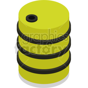 isometric barrel vector icon clipart 2 clipart. Commercial use image # 414489
