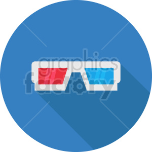 isometric cinema 3d glasses vector icon clipart 1 clipart. Commercial use image # 414498