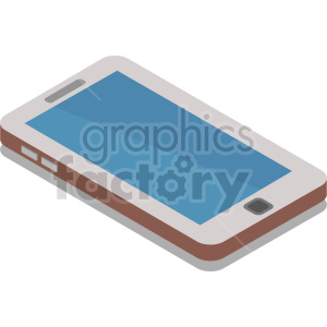 isometric smart phone vector icon clipart 16 clipart. Commercial use image # 414557