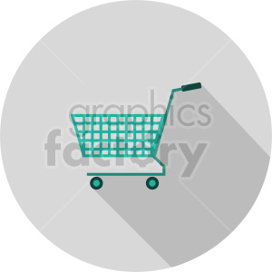 isometric shopping cart vector icon clipart 3 clipart. Commercial use image # 414600