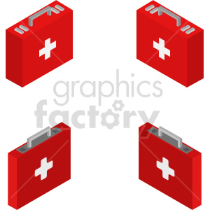 isometric medical bag vector icon clipart 1 clipart. Commercial use image # 414619