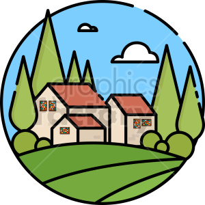 littlehouse vector clipart icon clipart. Commercial use image # 414734