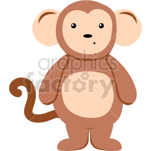 animal monkey suit vector clipart clipart. Commercial use image # 414887