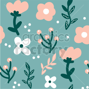 seamless floral background graphic clipart. Commercial use image # 415100