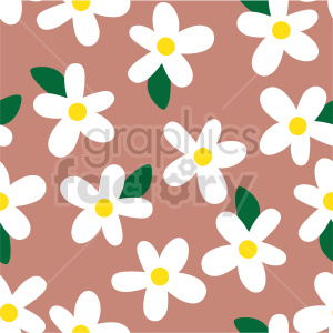 seamless daisey background graphic clipart. Commercial use image # 415106