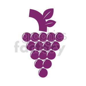 grape vector clipart 04 clipart. Commercial use image # 415159