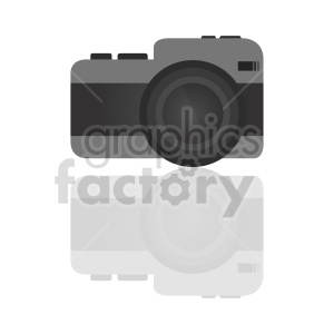 camera icon vector clipart. Commercial use image # 415228