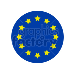 Flag of Europe vector clipart 07 clipart. Commercial use image # 415310