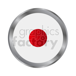 Japan flag vector clipart icon 04 clipart. Commercial use image # 415355