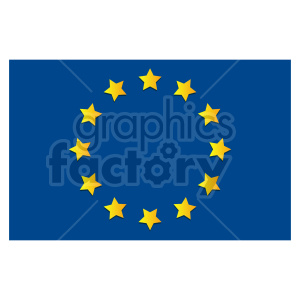 Flag of Europe vector clipart 05 clipart. Commercial use image # 415379