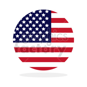 Flag of North America vector clipart 014 clipart. Commercial use image # 415390
