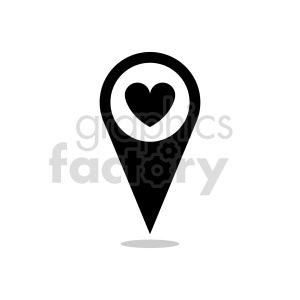 gps marker icon vector clipart clipart. Commercial use image # 415458