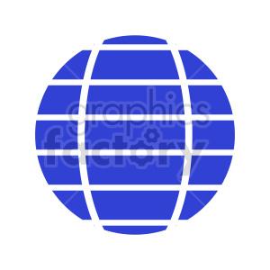 globe icon vector clipart