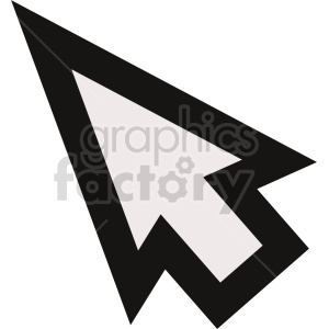 cursor icon vector clipart clipart. Commercial use image # 415495