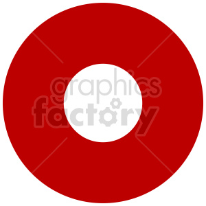 circle street sign vector graphic clipart. Commercial use image # 415509