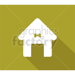 dog house icon clipart. Commercial use image # 415696
