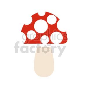 cartoom mushroom vector design clipart. Commercial use image # 415778