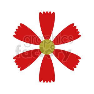 flower clipart 4 clipart. Commercial use image # 415781