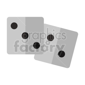 dice vector clipart photo. Commercial use photo # 415847