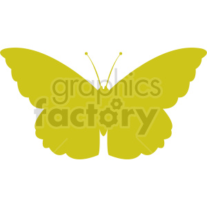 butterfly silhouette vector clipart 05 clipart. Commercial use image # 415924