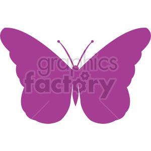 butterfly silhouette vector clipart 04 clipart. Commercial use image # 415944